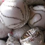 Impressionen Advent 2012 Garten und Dekoration - Kugeln